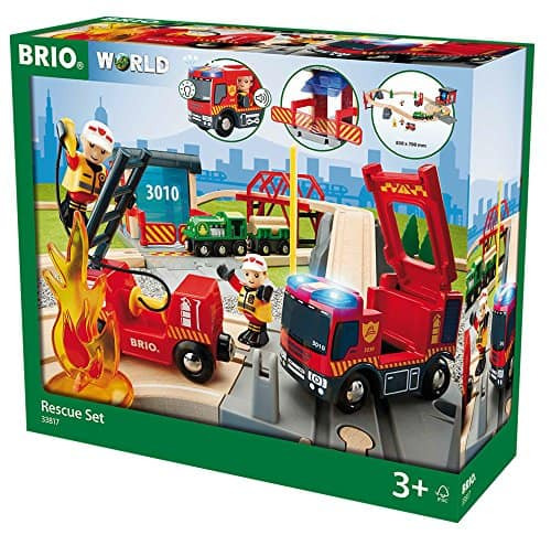 BRIO Feuerwehr Set Deluxe