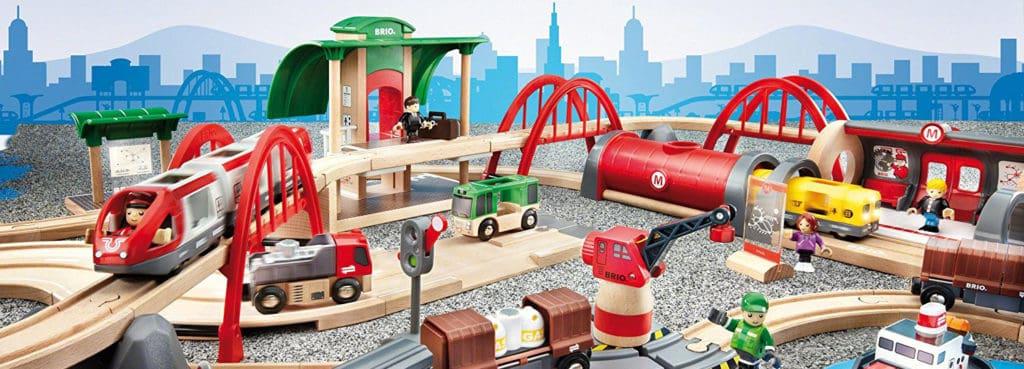 BRIO Holzeisenbahn Sets