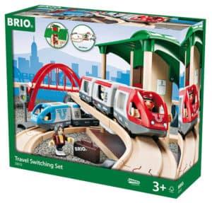 BRIO Großes Reisezug Set Verpackung