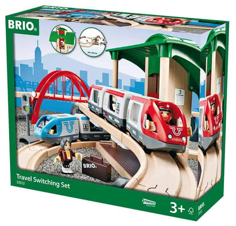BRIO Großes Reisezug Set