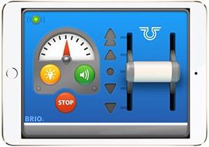 Batterie-Lok mit Bluetooth-Steuerung
