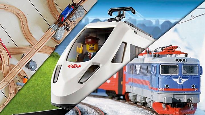 Die Arten von Eisenbahn Spielzeug