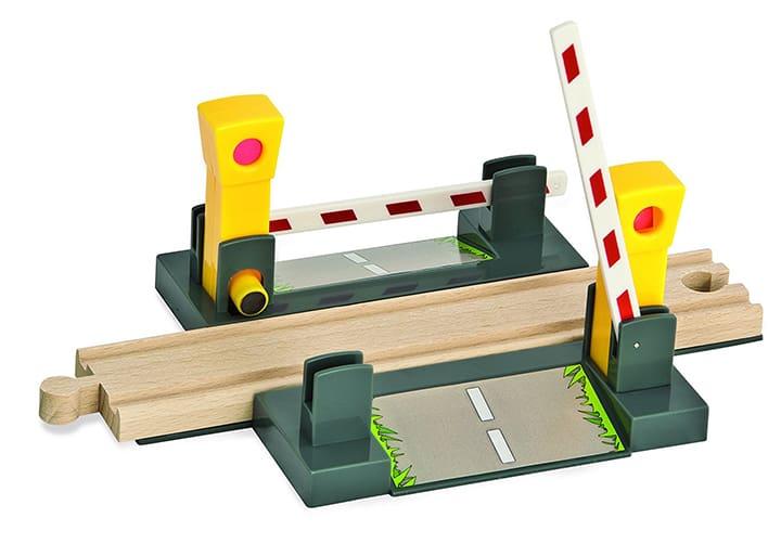 Holzeisenbahn Bahnübergang