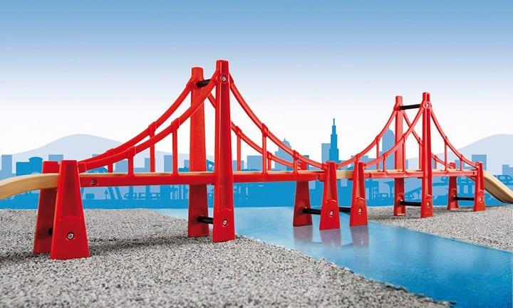 Holzeisenbahn Brücken