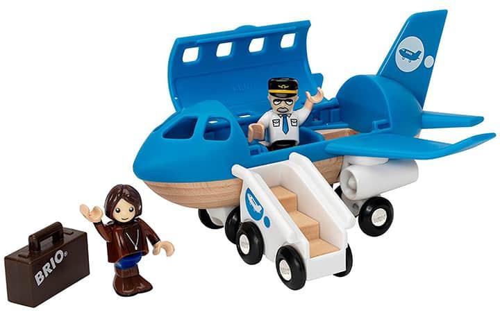 Holzeisenbahn Flugzeuge