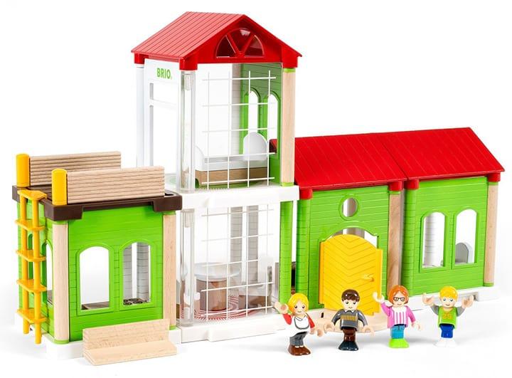 Holzeisenbahn Gebäude