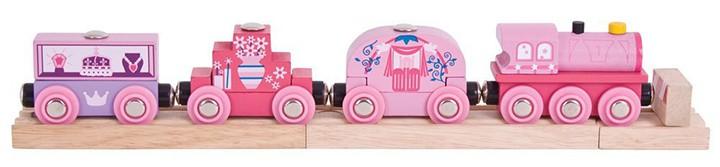 Pinke Lok für Mädchen