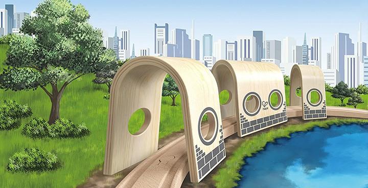 Alle Hape Brücken und Tunnel