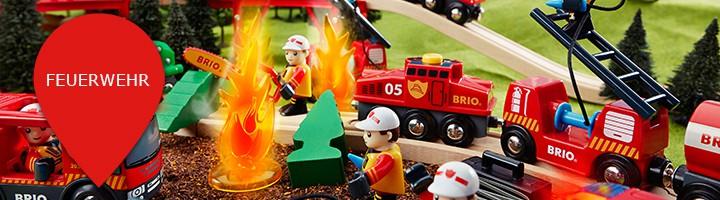 Holzeisenbahn Themenwelt Feuerwehr