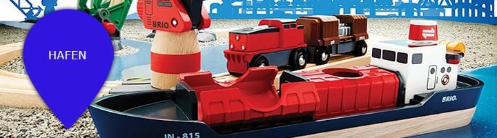 Holzeisenbahn Themenwelt Hafen