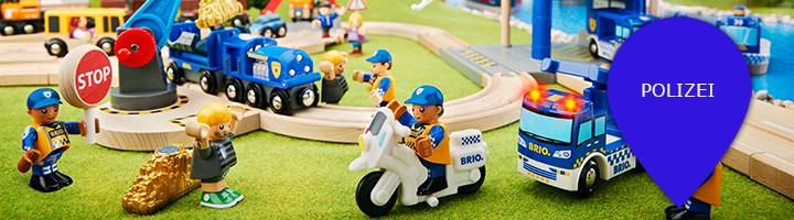 Holzeisenbahn Themenwelt Polizei